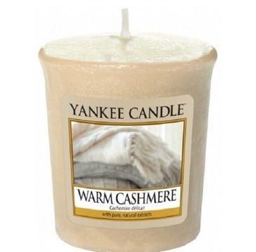 Yankee Candle Świeca zapachowa sampler Warm Cashmere 49g
