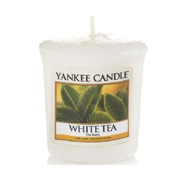 Yankee Candle Świeca zapachowa sampler White Tea 49g