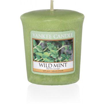 Yankee Candle Świeca zapachowa sampler Wild Mint 49g