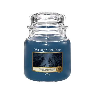 Yankee Candle – Świeca zapachowa średni słój A Night Under The Stars (411 g)