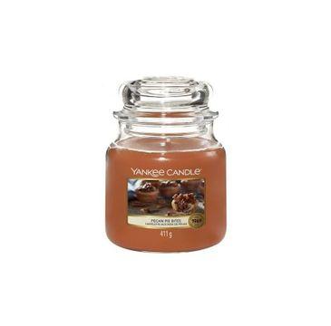 Yankee Candle – Świeca zapachowa średni słój Pecan Pie Bites (411 g)