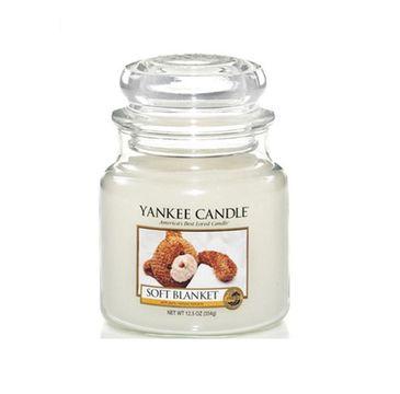 Yankee Candle Świeca zapachowa średni słój Soft Blanket 411g