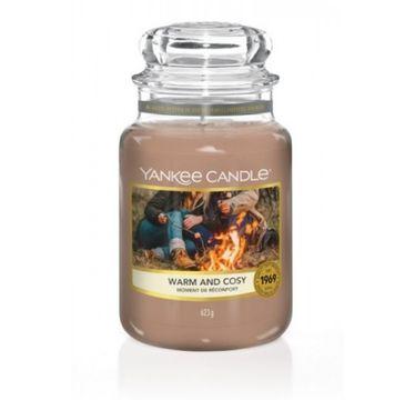 Yankee Candle – Świeca zapachowa średni słój Warm and Cosy (411 g)