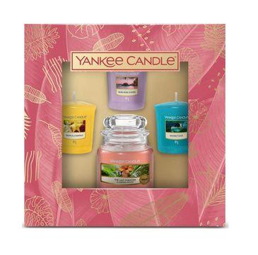 Yankee Candle – The Last Paradise zestaw świeca votive 3x49g + mała świeca 104g (1 szt.)
