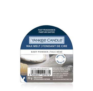 Yankee Candle Wax Melt wosk zapachowy Baby Powder (22 g)