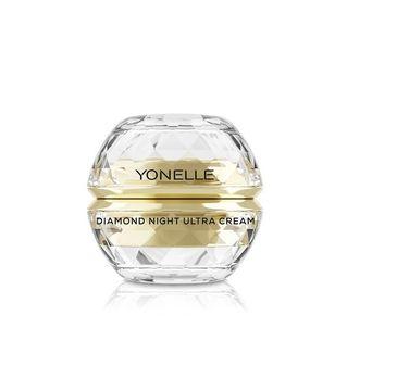 Yonelle Diamond Night Ultra Cream – diamentowy krem do twarzy i ust na noc (50 ml)
