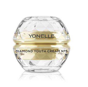 Yonelle Diamond Youth Cream N5 – diamentowy krem młodości do twarzy i ust (50 ml)