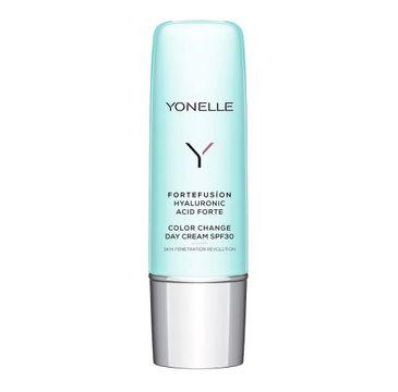 Yonelle Fortefusion Hyaluronic Acid Forte Color Change Day Cream SPF30 krem z kwasem hialuronowym na dzień (50 ml)