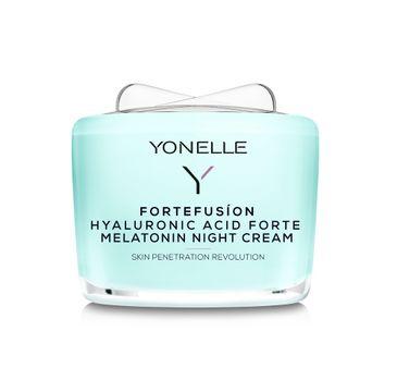 Yonelle Fortefusion Hyaluronic Acid Forte Melatonin Night Cream krem z kwasem hialuronowym i melatoniną na noc (55 ml)