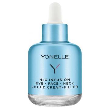 Yonelle H2O Infusion Eye Face Neck Liquid Cream Filler – krem przeciwzmarszczkowy pod oczy, na twarz i szyję (50 ml)