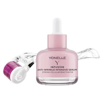 Yonelle Infusion Anti Wrinkle Intensive Serum – zabieg mikronakłuwania infuzyjnego – intensywne serum przeciwzmarszczkowe (30 ml) + Yonelle Mezoroller