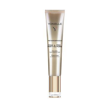 Yonelle Metamorphosis Mousse Top Perfector – krem błyskawicznie matujący skórę i maskujący pory (25 ml)