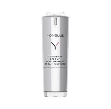Yonelle Trifusion Eye & Lip Mimic Wrinkles Cream-Minimizer reduktor zmarszczek mimicznych w okolicach oczu i ust (15 ml)