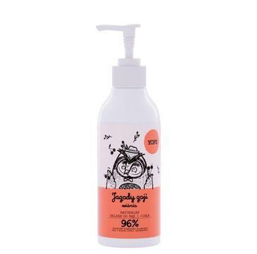 Yope – balsam do rąk i ciała Jagody Goji i Wiśnia (300 ml)