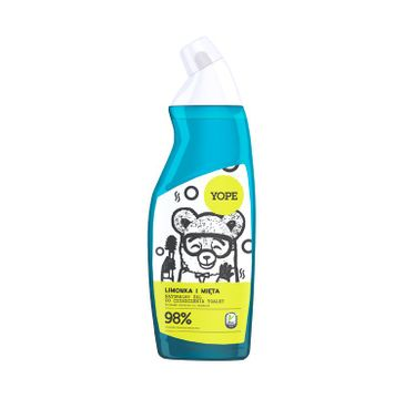 Yope – Limonka i mięta naturalny żel do czyszczenia toalet (750 ml)