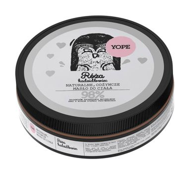 Yope – masło do ciała Róża i Kadzidłowiec (200 ml)