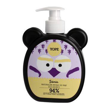 Yope – mydło do rąk dla dzieci Jaśmin (400 ml)