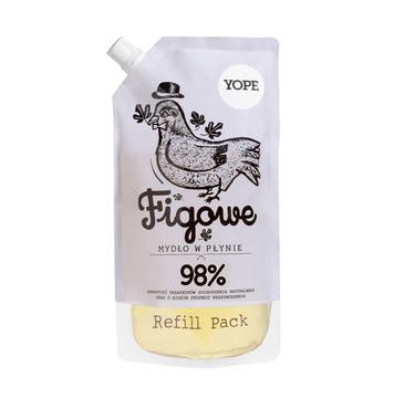 Yope – mydło w płynie Figa – opakowanie uzupełniające (500 ml)