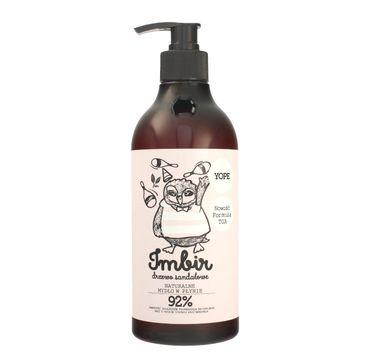Yope – mydło w płynie Imbir i drzewo sandałowe (500 ml)