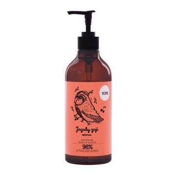 Yope – mydło w płynie Jagody Goji  i Wiśnia (500 ml)