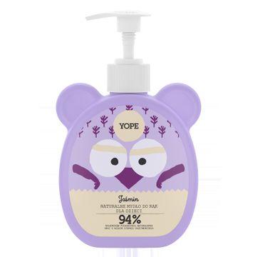 Yope – naturalne mydło do rąk dla dzieci Jaśmin (400 ml)