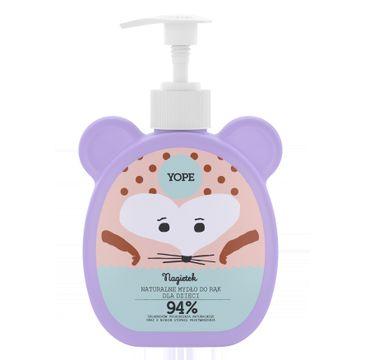 Yope – naturalne mydło do rąk dla dzieci Nagietek (400 ml)