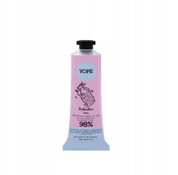 Yope Naturalny krem do rąk Rabarbar i Róża (50 ml)