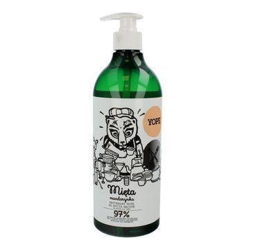 Yope – naturalny płyn do mycia naczyń Mięta i Mandarynka (750 ml)