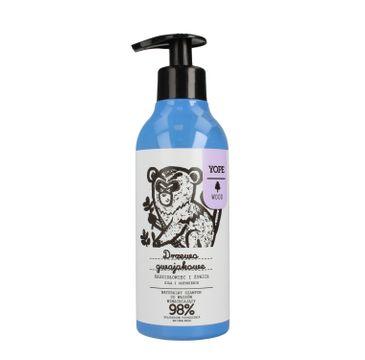 Yope Naturalny szampon do włosów Drzewo gwajakowe, kadzidłowiec i żywica (400 ml)