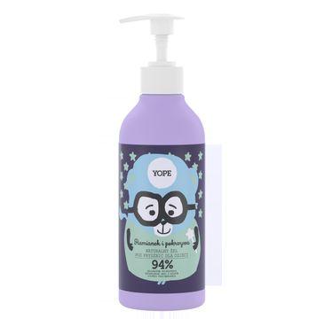 Yope – naturalny żel pod prysznic dla dzieci Rumianek i Pokrzywa (400 ml)