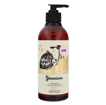 Yope – żel pod prysznic Geranium (400 ml)