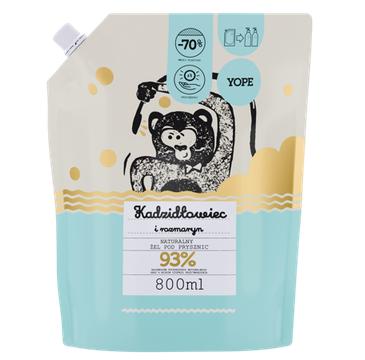 Yope – żel pod prysznic Kadzidłowiec – zapas (800 ml)
