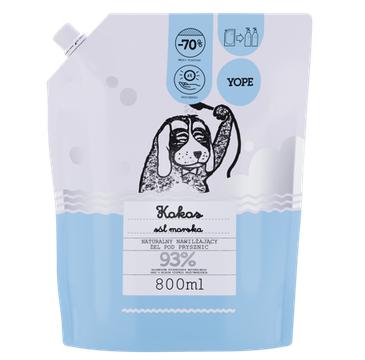 Yope – żel pod prysznic Kokos i Sól Morska – zapas (800 ml)