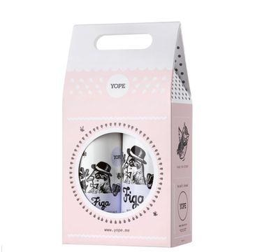 Yope – Zestaw prezentowy Figa mydło w płynie 500ml+balsam do rąk 300ml (1 szt.)