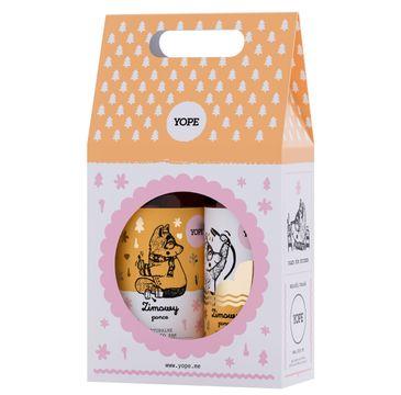 Yope – zestaw kosmetyków – mydło w płynie + żel pod prysznic Zimowy Poncz (1 op.)