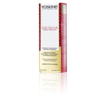 Yoskine Geisha Gold Secret krem pod oczy (15 ml)