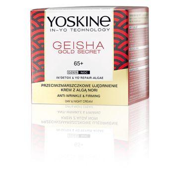 Yoskine Geisha Gold Secret krem z algą Nori 65+ (50 ml)