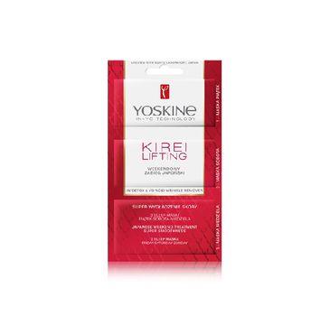Yoskine Kirei Lifting – weekendowy zabieg japoński – maseczki do twarzy (1 op.)