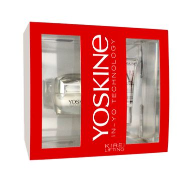 Yoskine Kirei Lifting – zestaw kosmetyków krem na dzień i na noc (50 ml) + krem pod oczy (15 ml)