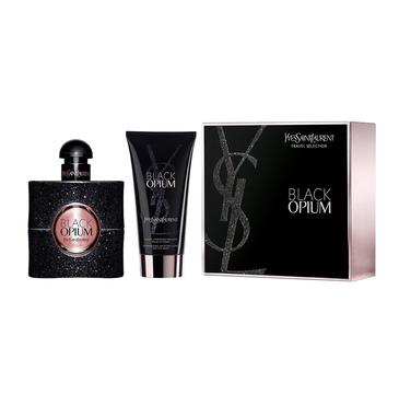 Yves Saint Laurent – Black Opium Pour Femme zestaw woda perfumowana spray 50ml + balsam do ciała 50ml (1 szt.)