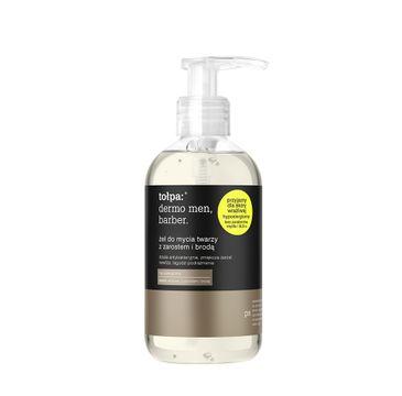 Żel do mycia twarzy z zarostem Tołpa Men Barber 150 ml
