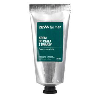Zew For Men Krem do ciała i twarzy zawiera czarną hubę 80ml