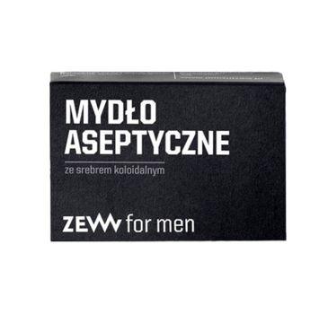 Zew For Men Mydło aseptyczne ze srebrem koloidalnym (85 ml)