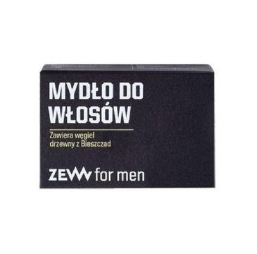 Zew For Men Mydło do włosów z węglem drzewnym z Bieszczad 85ml