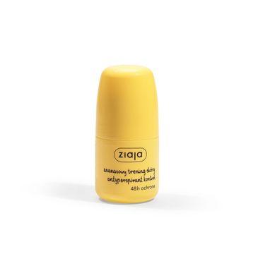 Ziaja Ananasowy Trening Skóry antyperspirant kontrol w kulce (60 ml)