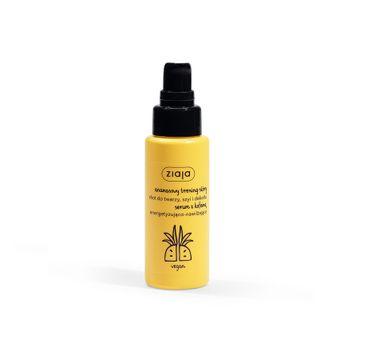 Ziaja Ananasowy Trening Skóry energetyzująco-nawilżający shot do twarzy szyi i dekoltu (50 ml)