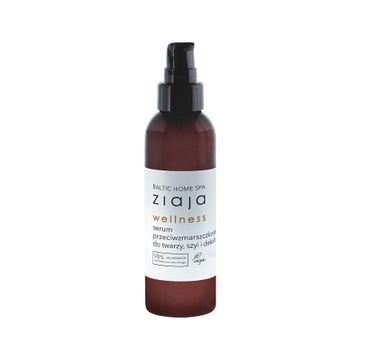 Ziaja Baltic Home Spa Wellness serum przeciwzmarszczkowe do twarzy szyi i dekoltu (90 ml)