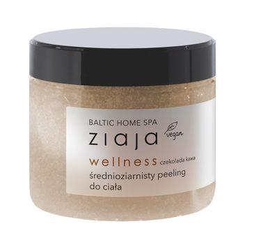 Ziaja Baltic Home Spa Wellness średnioziarnisty peeling do ciała Czekolada Kawa (300 ml)