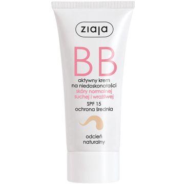 Ziaja BB krem do skóry normalnej, suchej i wrażliwej odcień naturalny SPF15 50ml