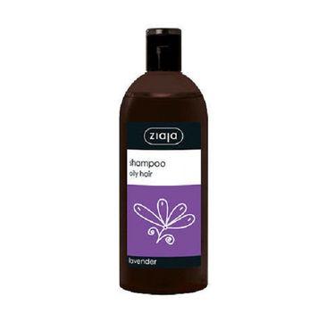 Ziaja Lawenda szampon do włosów przetłuszczających się 500ml